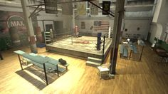 Boxing Gym, My Gym, Dining Table, Furniture, Home Decor, Boxing, Gym, Wrestling, Homemade Home Decor