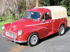 Minor 1000 Utility and tilt Classic Cars British, Classic Trucks, British Car, Hot Rod Trucks, Old Trucks, Mini Morris, Morris Minor, Classic Mercedes, Commercial Vehicle