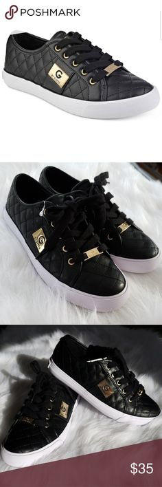 47e783e8c5ec85 Size 6 G by Guess black Oadie sneaker NWT no box. Make an ode to