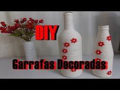 (482) DIY - Faça Você Mesmo - Garrafas Decoradas - YouTube