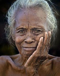 A Grand Old Sea Gypsy Lady Of Mabul island, Semporna, Sabah. I find her so beautiful, love her ever willing smile and wrinkled face. A face that tell a thousand pains and a thousand joys.