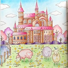 From Romantic Country coloring book, book one --> For the top-rated adult coloring books and writing utensils including watercolors, colored pencils, gel pens and drawing markers, check out our website at http://ColoringToolkit.com. Color... Relax... Chill.