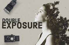 Double Exposure Photo Effects Kit by Creative Media Co on Creative Market
