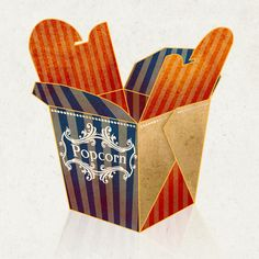 Vintage packaging by Ramona Rizk, via Behance