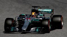 2017 GP Hiszpanii (Lewis Hamilton) Mercedes-Benz F1 W08 Hybrid