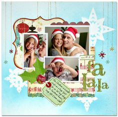A Project by KJ-Starre from our Scrapbooking Gallery originally submitted 12/31/09 at 08:32 AM