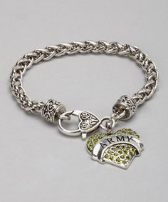 Look what I found on #zulily! U.S. Army Silver Bracelet by From the Heart #zulilyfinds