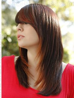 long-brown-casual-style-with-side-bangs.jpg (500×667)