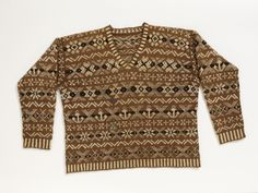Golf Sweater 1920s The Victoria & Albert Museum
