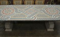 Roman Style TABLE On the Block. Will the cereal taste different?