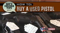 How To Buy A Used Pistol - In the market for a used auto-pistol? These tips from FMG Publication's Roy Huntington can help. Click here for more tips: http://www.americanhandgunner.com/how-to-buy-a-used-pistol/