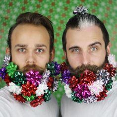 On the fifth day of Christmas The Gay Beards gave to me... #12gaybeardsofchristmas