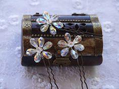 Bridal Hair Pins Wedding Accessories Bride Comb Tiara Crown Jewelry Headband Pin