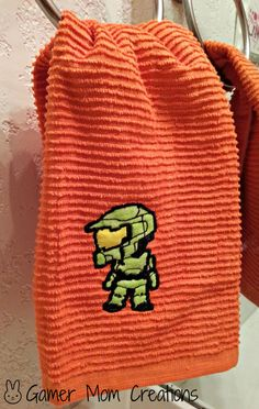 #Halo Master Chief Towel by GamerMomCreations ($7.20)