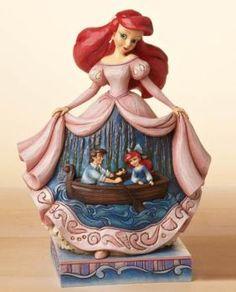 """Twilight Serenade"" Princess Ariel Figurine - Jim Shore Disney Traditions 4015334 | ENESCO"