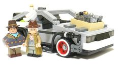 Lego Officially Announce Back To The Future DeLorean Kit For Next Year