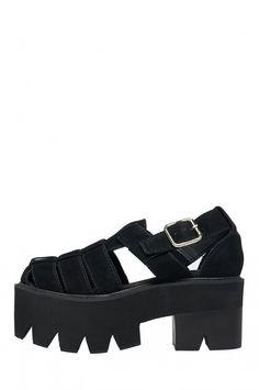 Jeffrey Campbell Argonot Flatform Sandal