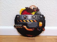 Dr. Robotnik Perler Bead Sprite by Night-TAG on deviantART