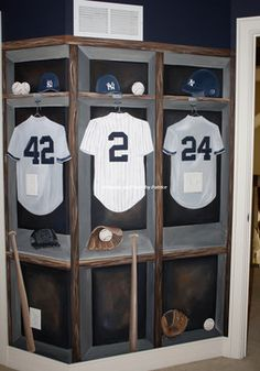 NY Yankees Big Boy Room - traditional - kids - new york - Murals and more by Patrice