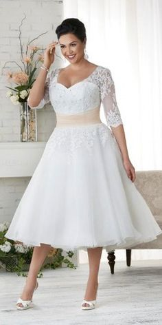 Colored Wedding Gowns, Bridal Wedding Dresses, Designer Wedding Dresses, Bridesmaid Dresses, Bonny Bridal, Tea Length Wedding Dresses, Modest Wedding, Lace Wedding, Wedding Dresses With Color