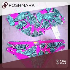 Trendy swimsuit...size large New with tags Swim One Pieces