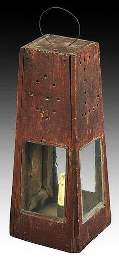 Don Olson - Fine American Antiques - Homemade Lantern.