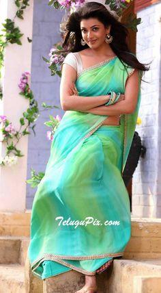 Check Out High Definition Photos of Kajal Aggarwal in Saree - Kajal Aggarwal HD Photos South Indian Actress Photo, Indian Actress Photos, Indian Film Actress, Beautiful Indian Actress, Beautiful Actresses, Indian Actresses, Tamil Actress, Actress Pics, Bollywood Actress
