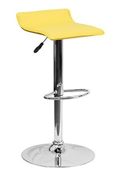Flash Furniture Contemporary Yellow Vinyl Backless Adjust... http://www.amazon.com/dp/B00IXOMT7M/ref=cm_sw_r_pi_dp_S4ptxb1VJMMG4