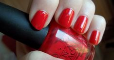 OPI Cajun Shrimp is really bright, great formula with only 1 - 2 coats needed, and is glossy without top coat :) a great go - to red, and...
