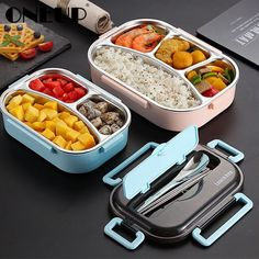 WORTHBUY Japanese Kids Lunch Box 304 stainless steel Bento Lunch Box With Compartment Tablewa. WORTHBUY Japanese Kids Lunch Box 304 stainless steel Bento Lunch Box With Compartment Tableware Microwave Food Container Box Japanese Kids, Japanese Lunch Box, Japanese Style, Thermal Lunch Box, Insulated Lunch Box, Microwave Recipes, Microwave Food, Microwave Heating, Lunch Box With Compartments