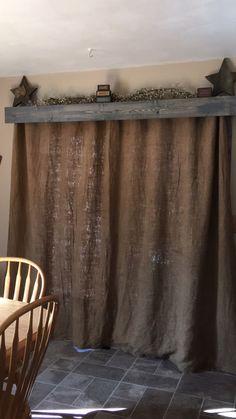 New Living Room Diy Curtains Fabrics Ideas French Country Living Room, Farm House Living Room, Rustic House, Farmhouse Living, Living Room Diy, Diy Curtains, Apartment Living Room, Curtains Living Room Rustic, Home Decor