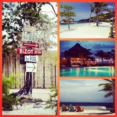 All signs point to YES!   #beach #bliss #chic #Caribbean #vacation