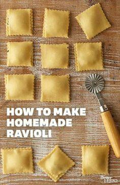Make your own ravioli