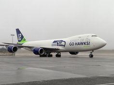 12th Plane, Boeing 747-8F Seahawks