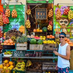 It feels like around every corner there is another smoothie store in Tel-Aviv! This is by far our favourite. Double Tap if you love a cold, refreshing smoothie. Smoothie Store, Architecture Old, Tel Aviv, Old City, Travel Couple, Double Tap, Middle East, Israel, Travel Photography