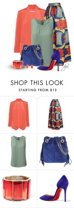 """Bright colours for Fall"" by dgia ❤ liked on Polyvore featuring Rebecca Minkoff, Maje, Oscar de la Renta, Christian Louboutin and Kate Spade"