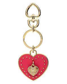 Leather Heart Key Fob $42