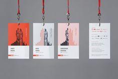 RGD DesignThinkers 2015 Conference - Materials on Branding Served Name Tag Design, Id Card Design, Badge Design, Identity Card Design, Collateral Design, Branding Design, Graphisches Design, Event Design, Design Elements