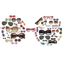 A fashion look from March 2012 featuring Cutler and Gross sunglasses, Jimmy Choo sunglasses and MANGO sunglasses. Browse and shop related looks.