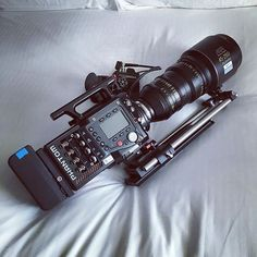 Here's a #sweet phantom taking a nap  after a hard day's work! Lovely shot by @highspeedhire #camera #gear #arri #phantom #zacuto