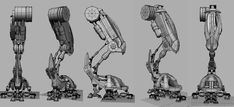 designing, building and rigging a mech - Polycount Forum