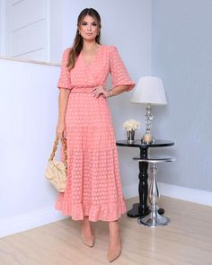 Modest Dresses, Trendy Dresses, Modest Outfits, Classy Outfits, Modest Fashion, Elegant Dresses, Cute Dresses, Fashion Dresses, Summer Dresses