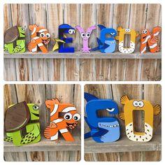 Custom Handmade Character Letter Finding by TheLittleThingsHouse