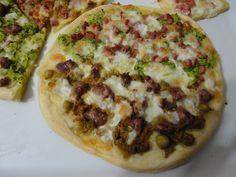 Pizza impasto croccante