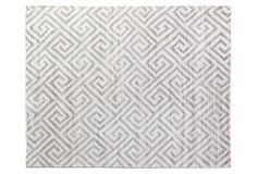 8'x10' Ceyhan Rug, Dark Silver on OneKingsLane.com