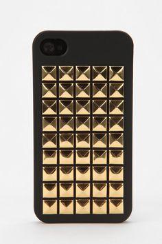 (Stocking Stuffer) Pyramid-Stud iPhone 4/4S Case  #UrbanOutfitters, $28