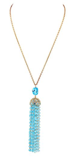How about this #BlueTopaz tassel?  #EthoMaria #EthoMariaCandy