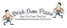 Brick Oven Pizza   2-2555 Kaumualii Highway,   Kalaheo, HI 96741-8309  (808) 332-8561 