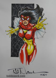 Spider-Woman by Todd Nauck
