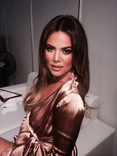 Khloe Kardashian is flawless.